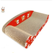 ODM for Chaise Longue Cat Scratching Board contemporary cat scratcher for pets toys export to Congo, The Democratic Republic Of The Manufacturers