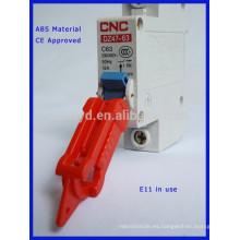 Bloqueo de seguridad del bloqueo del disyuntor con CE marcado E11