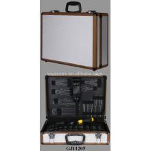 Aluminium Werkzeugkoffer mit Fold-Down-Tool-Palette im Inneren
