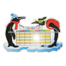 marqueur tableau blanc, les enfants des enseignants des écoles calendrier tableau blanc, horaire quotidien