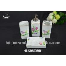 Conjunto de banho de cerâmica 4pcs