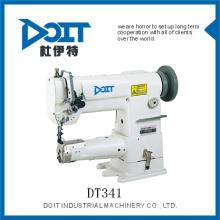 DT341 lit simple de cylindre d'aiguille avec la machine à coudre de point d'arrêt d'alimentation d'Unision Prix