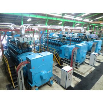 Centrale électrique 1MW-500MW avec carburant Diesel Gaz Combustible double Hfo