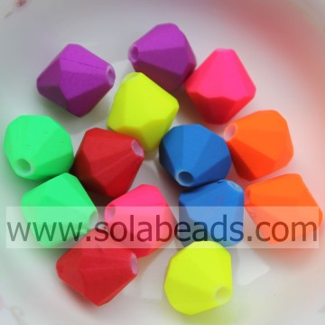 Jewellery 12MM Crystal Plastic Bicone Shape Acrylic Beads