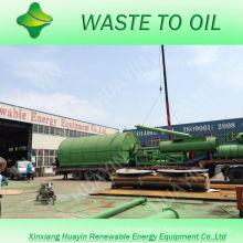 La haute technologie 8 / 10T a utilisé le pneu / machine en plastique de ligne de pyrolyse en Inde / Roumanie / Birmanie
