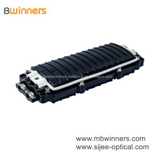 Caja de empalme de cable de fibra óptica horizontal exterior 2 en 2 caja de empalme de fibra 96 núcleos