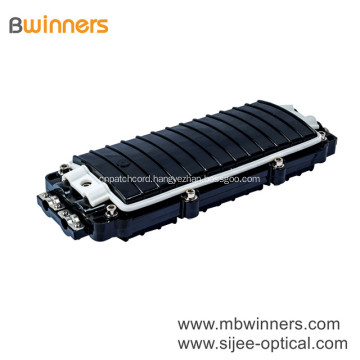 2 in 2 out Outdoor Horizontal Fiber Optic Cable Joint Box Fiber Splice Enclosure 96 core
