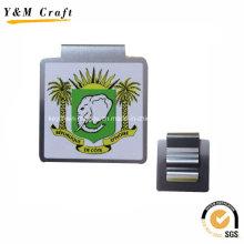 Clips de papier en acier inoxydable carrés personnalisés en gros Ym1196