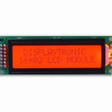 FSTN Positive 16 x 2 Character LCD Module with Red LED Backlight