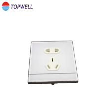 Socket cover plastic injection part