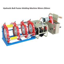 Machine hydraulique de soudure par fusion de bout de tuyau en plastique de HONGLI (90mm-250mm)