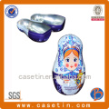 Boîte de rangement en métal, boîtes de rangement décoratives, boîtes de rangement pour poupées