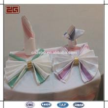 Venta caliente de la venta de la fábrica 50 * 70CM servilletas de lino del algodón para el restaurante