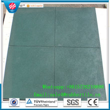 Gym Use Rubber Flooring/Square Rubber Tiles/Gym Rubber Flooring