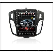 ChinaFactory 10.4''Car Vertical écran vidéo pour Ford Focus 2012-2014 DVD Lecteur Multimédia Autoradio Headunit avec SWC