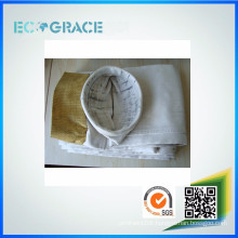 E-class fiberglass industrial excellent abrasion dust filter bag for dust collector system