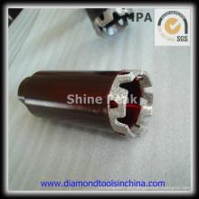 Pedacitos de taladro de núcleo de diamante del segmento