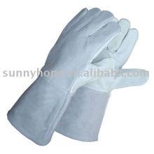 Кожаная перчатка для сварщика
