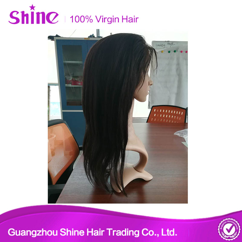 Natural Hairline Human Hair Wig