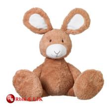 Conozca EN71 y ASTM estándar largo piernas conejo juguete de peluche