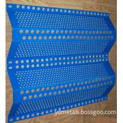 Perforated Metal Sheet-Wind Dust Net (YND-PMS-WDN)