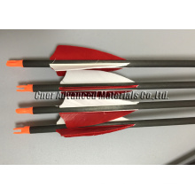 2016 Hunting carbon arrow shaft, carbon fiber arrow, arrow vanes