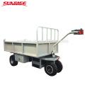 Chariot / plate-forme de plate-forme électrique de capacité de 400kg avec le levage électrique
