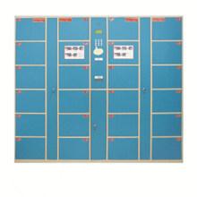 Armário digital elétrico da moeda do supermercado com 24 portas