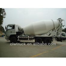 Precio de fábrica 12M3 especificaciones del mezclador del carro de hormigón de Dongfeng, 6x4 mezclador concreto del carro