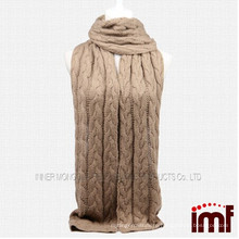 2014 wholesale solid color infinity cashmere knit scarf