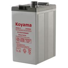 Batería de almacenamiento 2V -2V500ah para sistema de transmisión