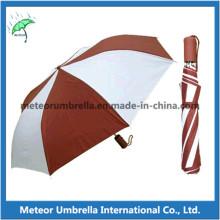 Cheap 2 Doblar el regalo de la promoción El paraguas desechable del anuncio