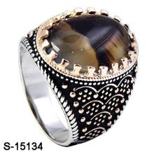 Новый дизайн серебро 925 пробы серебряное кольцо ювелирные изделия для человека