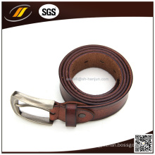 New Arrival Top Quality Men′s Casual Real Leather Belt