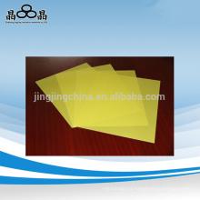 Buena calidad amarillo 3240 fibra de vidrio hoja Jingjing fabricante