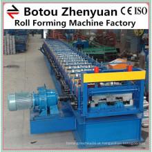 Fabricante de máquina de convés de chão de aço por laminação de rolos, máquina de formação de piso, máquina de convés de aço