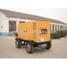 10-1000KVA Low noise mobile generator
