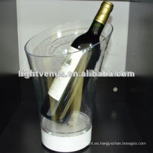 LED Light Up Plastic LED Ice Bucket
