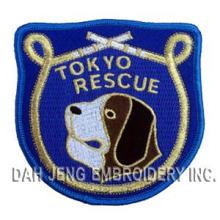 Rescate bordado de rescate de Tokio