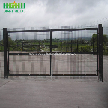 Good Quality Welded Double Fence Gate for Garden