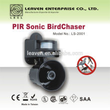 Sonic PIR cazador de pájaros LS-2001 repelen paloma mirlo