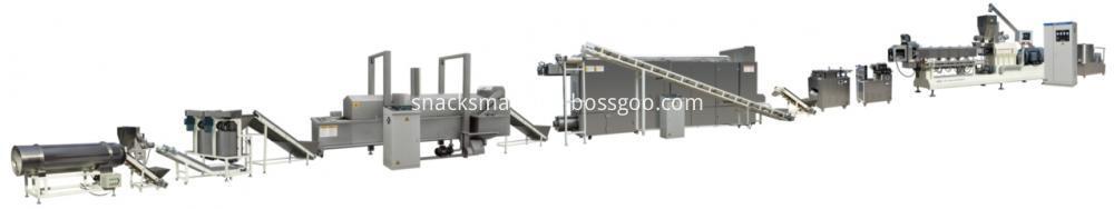 bugles production line