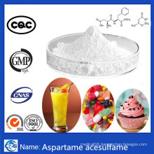USP Top Quality Food Additives 99% Bulk Aspartame-Acesulfame Twinsweet