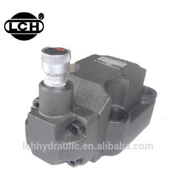 hydraulic pressure relief check pilot valve