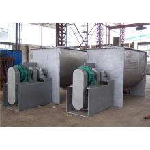 Misturador horizontal da faixa de opções para a mistura de pó contínuo