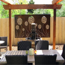 Outdoor Decorative Laser Cut Corten Steel panel