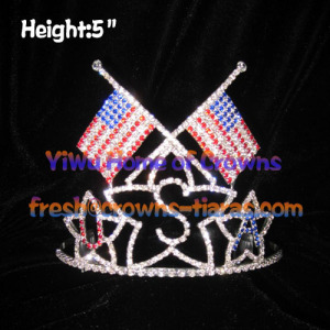 USA National Flag Wholesale Crowns