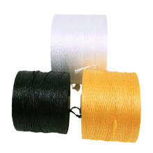 Polypropylene fiber filled yarn for high strength twisted cable
