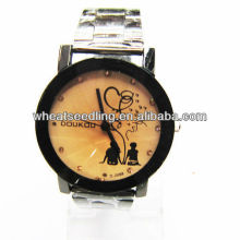 2013 relógio de amante simples, relógios casal definido para os amantes JW-55