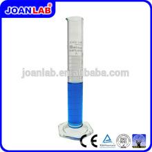 JOAN LAB Cilindro de medición de vidrio borosilicato con base hexagonal